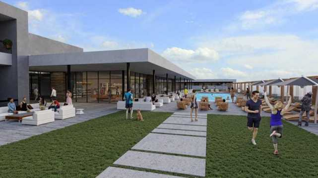 the BLOQ parq – The Residential Rooftop Pool & Clubhouse