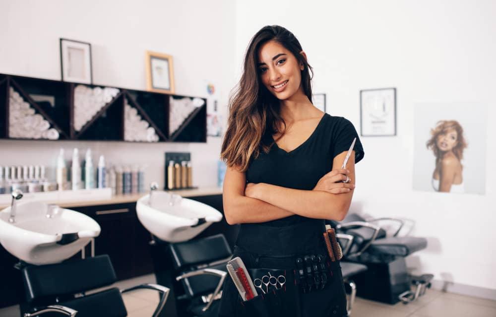 Female Hairdresser
